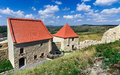 Rupea fortress in transylvania romania ruins of from medieval built by saxons xivth century nowaday landmark of Stock Images