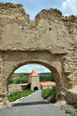 Rupea newly renovated medieval fortress in transylvania romania reps kohalom Royalty Free Stock Photos