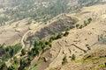 Rural area, Ethiopia Royalty Free Stock Photos