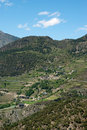 Rural area in south Andorra Royalty Free Stock Image