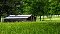 Rural barn in countryside southern american Stock Photos