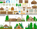 Rural constructions. Stock Photos