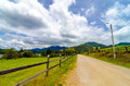 Rural Country Road Royalty Free Stock Photo