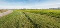 Rural Dutch landscape in the fall season