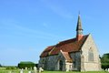 Rural english parish church Royalty Free Stock Photo
