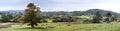 Rural Farmland in Devon near Dartmoor Royalty Free Stock Photo