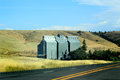 Rural Grain Elevator Royalty Free Stock Photo