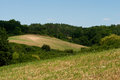 Rural landscape in the uckermark district germany north east of Royalty Free Stock Photo