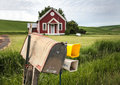 Rural Mailbox Royalty Free Stock Photo