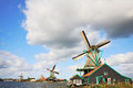 The rural museum rural constructions and windmills landscape in holland ethnographic a country symbol Stock Photo