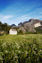 Rural Norway House Royalty Free Stock Photo
