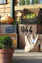 Rural organic farm shop produce Royalty Free Stock Photo