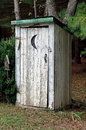 Title: Rural Outhouse