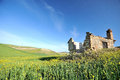 Rural ruins in the italian country Royalty Free Stock Photo