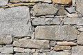 Rural stone wall Stock Image