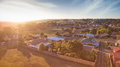 Rural town, South Gippsland Royalty Free Stock Photo
