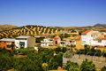 Rural village in Andalusia, Spain Royalty Free Stock Images
