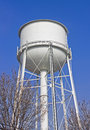 Rural Water Tower Royalty Free Stock Photo