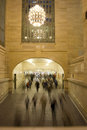 Rush hour at Grand Central Station, NY Stock Photos