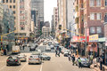 Rush hour and traffic jam in Johannesburg South Africa Royalty Free Stock Photo