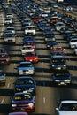 Rush Hour Traffic, Los Angeles, CA Royalty Free Stock Photo