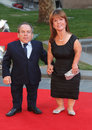 Rush warwick davis samantha arriving for the world premiere at the odeon leicester square london picture by henry harris Stock Images