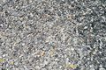 Rushed stones material crushed stone used in the construction Stock Photography