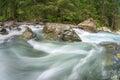 Rushing mountain river Royalty Free Stock Photo