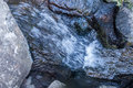 Rushing Water Closeup 2 Royalty Free Stock Photo