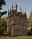 Rushton triangular lodge in northamptonshire symbol of catholicism Royalty Free Stock Photography