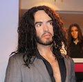 Russell Brand at Madame Tussaud's Royalty Free Stock Photo