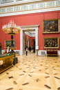 Russia the hermitage hall of italian art of centuries Royalty Free Stock Photography