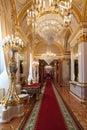 Grand Kremlin Palace enfilade Royalty Free Stock Photo