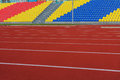 RUSSIA, MOSCOW- JULY 29, 2016: Old football stadium was opened after reconstruction due to Moscow mayor program
