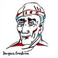 Jacques Cousteau Portrait