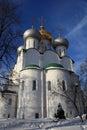 Russia. Moscow. Novodevichiy monastery Stock Photos
