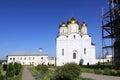 Russia. Mozhaisky Luzhetsky of the Nativity of the virgin Ferapontov monastery Royalty Free Stock Photo