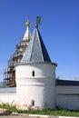 Russia. Mozhaisky Luzhetsky of the Nativity of the virgin Ferapontov monastery. Tower Royalty Free Stock Photo