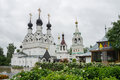 Russia murom holy trinity monastery city of Royalty Free Stock Image
