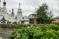 Russia murom holy trinity monastery city of Royalty Free Stock Photo