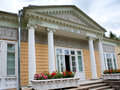 Russia. Pavlovsk. Pavilion in park Royalty Free Stock Photo