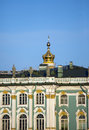 Russia. Petersburg. A winter Palace. (The Hermitage) Royalty Free Stock Photo