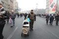 «Russia please go home» Stock Image