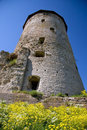 Russia. Pskov. Tower Royalty Free Stock Photo