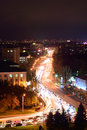 Russia rostov on don gagarin square don state technical unive university dstu evening Stock Image