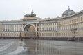 Russia, Saint-Petersburg, Palace Square Royalty Free Stock Photo