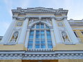 The russian academic youth theatre is located in an old building of th century built by architect joseph bové may Royalty Free Stock Photography