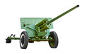 Russian artillery gun - World War II Royalty Free Stock Images