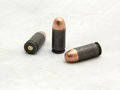 Russian cal acp bullet made caliber full metal jacket Royalty Free Stock Photo