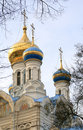 Russian church. Karlovy Vary Royalty Free Stock Images